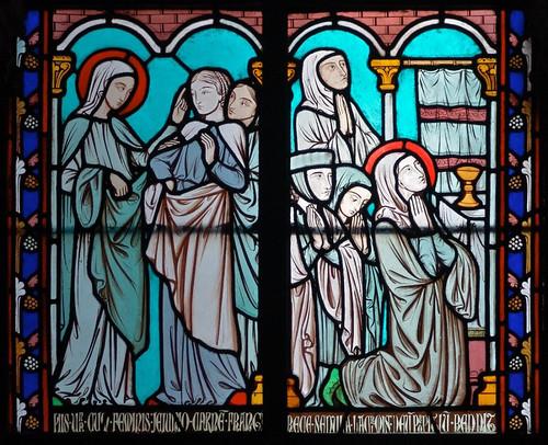 007- Vitral nº 7 claustro de Notre Dame de Paris
