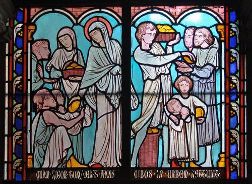 013- Vitral nº 13 claustro de Notre Dame de Paris