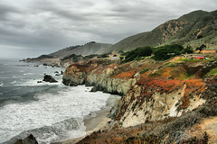 Monterey Coast, California (Bettina Woolbright) Tags: ocean california beach water coast monterey surf pacific pch westcoast pacificcoast bettina pacificcoasthighway montereycalifornia woolbright bettinawoolbright woolbr8stl bettinawoolbrightcom