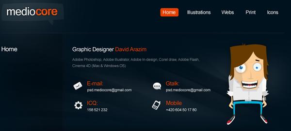 Designer Portfolios