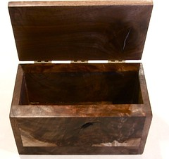Black Walnut box for Dan Klein by sittingbl, on Flickr