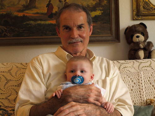 Liam and Great-Uncle Gene