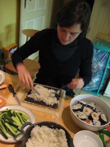 Gaelle aux sushis