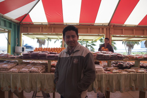 Jose steered us to the best fresh and dried fruits. You can even buy his products at www.usaproduce.net