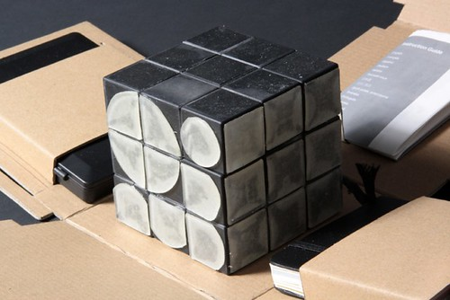 Cubo rubik Font Generator