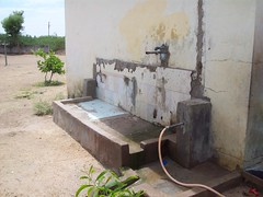 Drinking water source at a government school