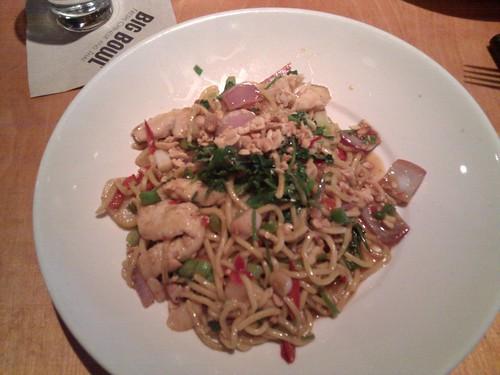 Nice hot Thai Noodles