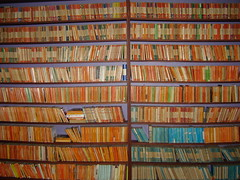 bookshelves (apenguinaweek) Tags: vintage penguins books lit bookcase bookshelves bookcovers penguinbooks penguinpaperbacks vintagepenguins
