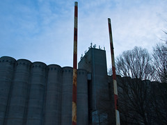 C2231045 (cbmd) Tags: backlight facade germany concrete exterior boom silo brandenburg antenna striped 1454mm ketzin contrejoure zukiodigital