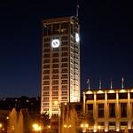 Le Havre: Hotel de Ville de nuit