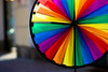 Wind Wheel (mgratzer) Tags: colors wheel rainbow colorful wind rad windy colourful windrad windwheel farbig bunt farben windig showonmysite