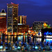 Baltimore Skyline by NearDC