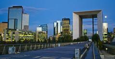 La Défense Skyline (Dave G Kelly) Tags: city paris france skyline architecture buildings arch ladefense business boardwalk offices ladéfense grandearche arche villedeparis davegkelly