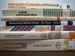 Modern Type & Sociology Books by liikennevalo
