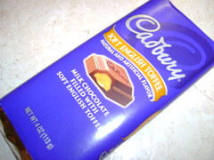 Cadbury's soft English toffee bar (chefshayna) Tags: chocolate cadbury toffee