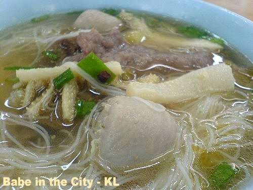 Chinatown Food Court Beef Noodle Soup