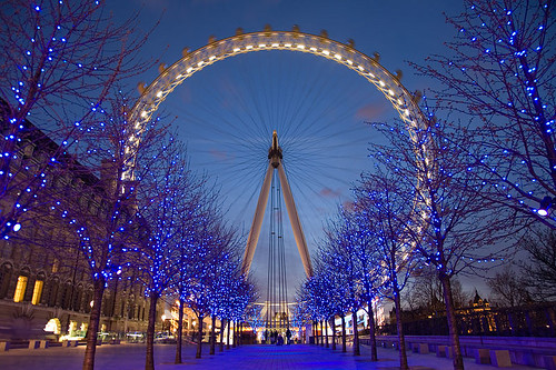 Image of London Eye in Lond England