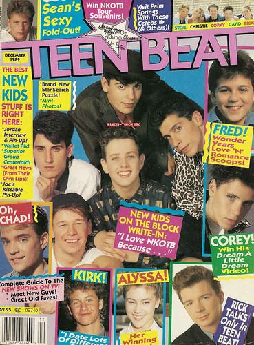 Teen Beat - Dec. 1989