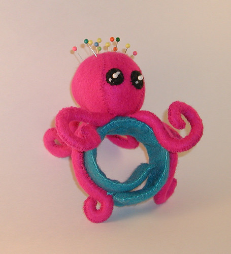 Octopus Wrist Pincushion 3