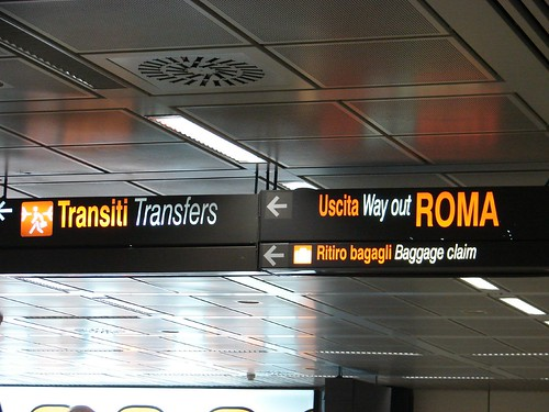 Fiumicino Airport, Rome by H Sanchez, on Flickr