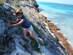 DSC02375 (Ivan and Erin pics) Tags: ocean tree beach town sand locals erin ivan tulum palm mayan cabana rivieramaya rockclimbing ing youthhostel mayans mayanruin popolvul yucatanpeninsila
