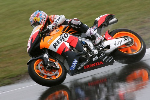 2009 Honda RC212V Action