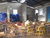 Inside the school in San Antonio, Chiquito
