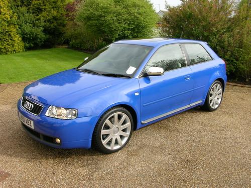 2000 Audi S3. 2001 Audi S3 Nogaro Blue