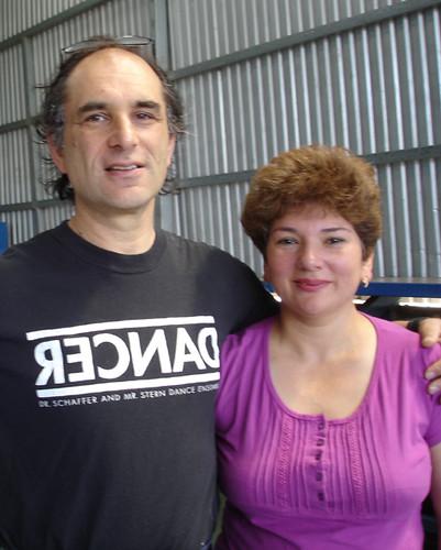 Karl Schaffer y Marjorie Rodríguez- 6. Festival Internacional de Matemática