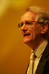 Andrew Stunell speaking at Lib Dem Conference, Brighton 2007