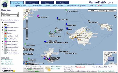 Tráfico marino