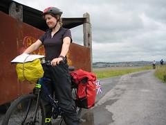Fiona on the Tarka Trail