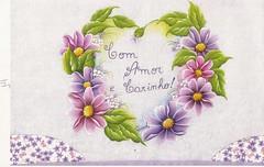 corao de flor do campo (Raquel - Pintando o 7) Tags: corao margaridas risco pintinhos joninha