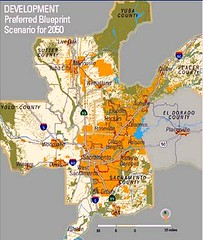 Sacramento's Blueprint for growth (courtesy of SACOG)