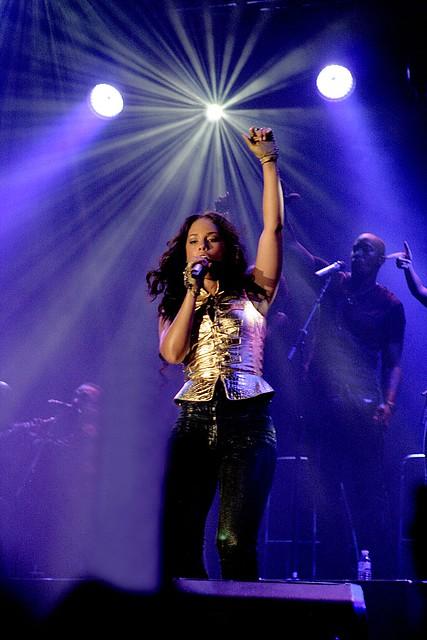 Alicia Keys by Guern