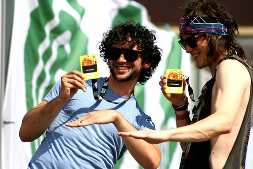 MGMT Backstage