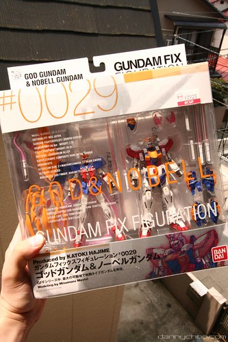 God Gundam & Nobel Gundam