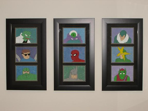 Spider-Man and Villians Paintings