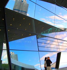 BMW Welt in Munich, Germany (Tobi_2008) Tags: people reflection germany munich mnchen bayern deutschland bavaria menschen reflexions allemagne spiegelung germania bmwwelt digitalcameraclub mywinners anawesomeshot aplusphoto ultimateshot theunforgettablepictures thebestofday gnneniyisi