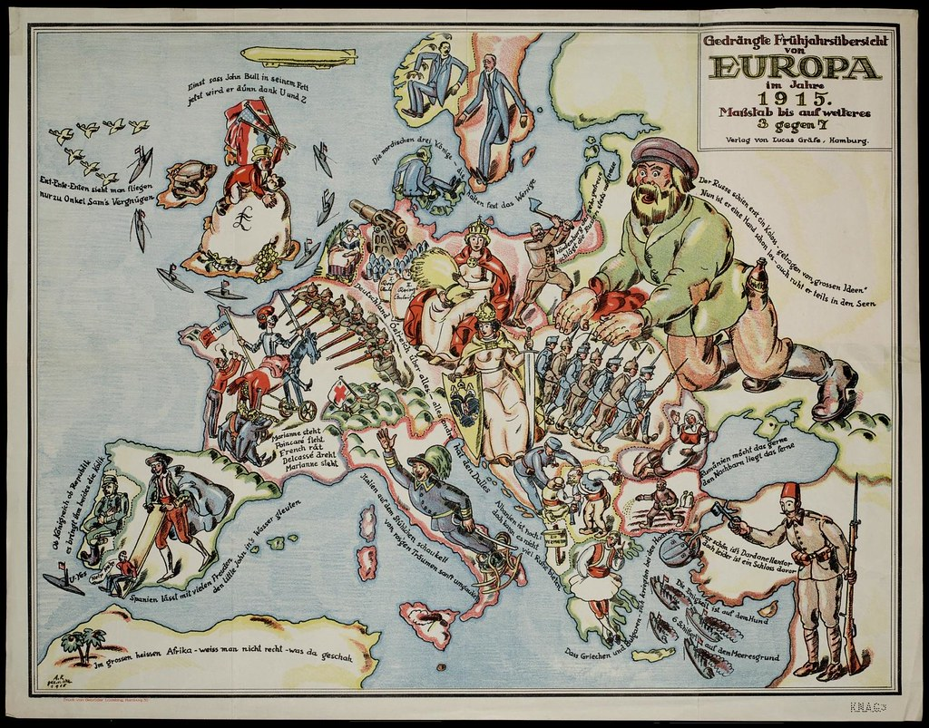 2722415492 ac7e5ceee6 b Satirical Maps of Europe