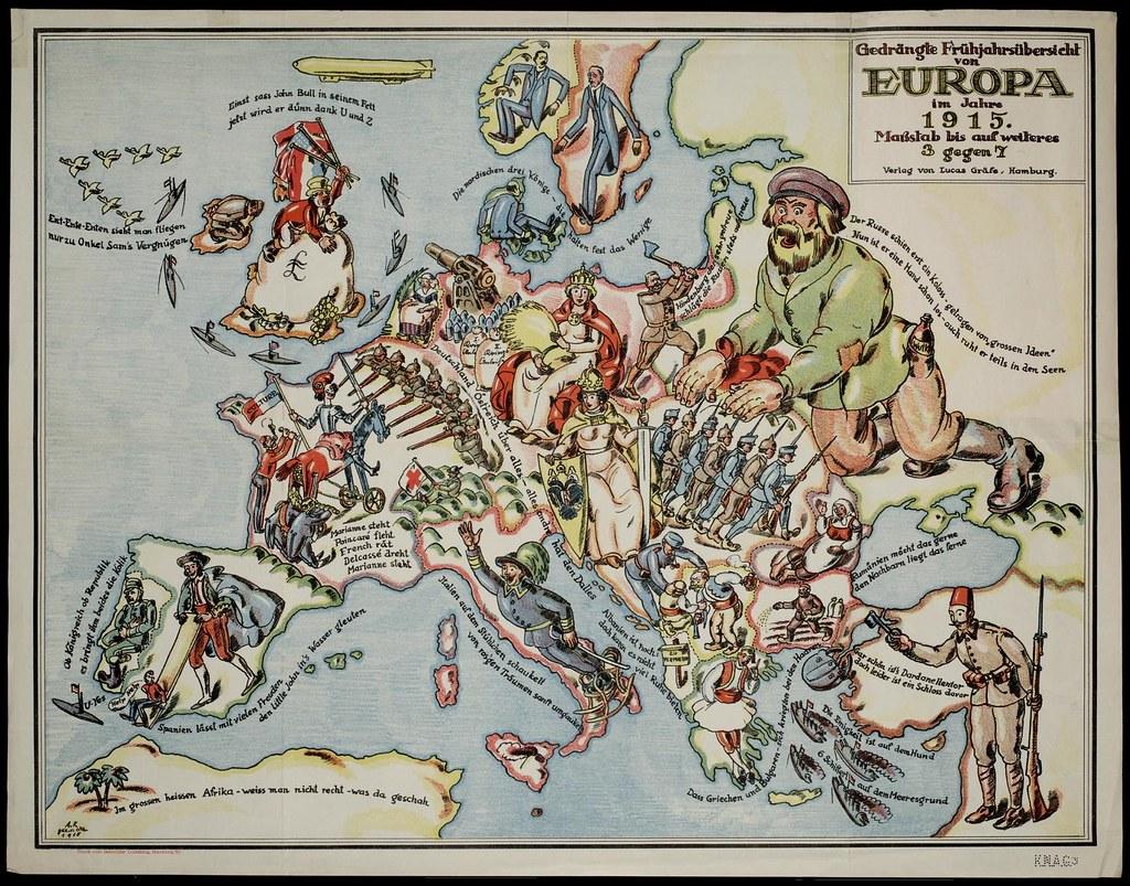 Europa im Jahre 1915