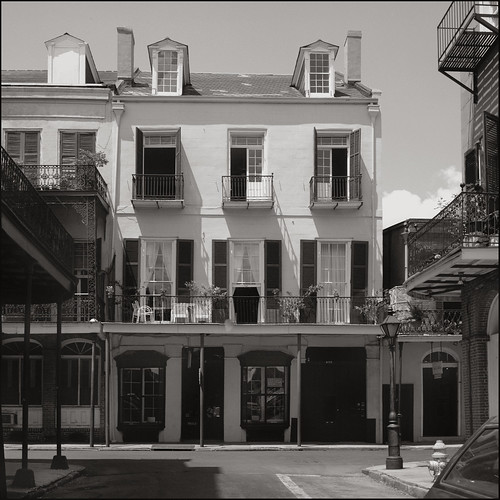 New Orleans Louisiana Creole Townhouse,  vctowncornerq by you.