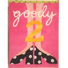 goody 2 shoes (Lori McDonough) Tags: pink original girls two black feet collage painting shoes highheels legs polkadots cutpaper blogged etsy goody acrylics hotpink goody2shoes lorimcdonough acrylicpaper