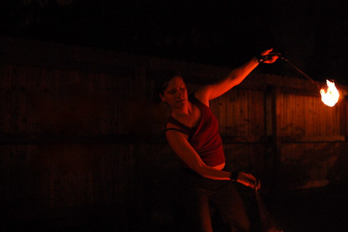 Katie Spinning Fire
