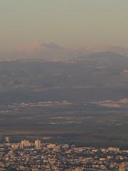 Mount Hermon from Haifa - Israel