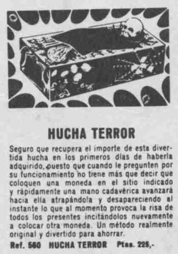 Hucha de Terror