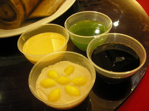 GreenTea Aloe Vera, Honey Herbal, Yam Gingko & Custard Caramel