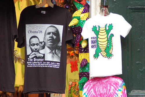 Obama T-shirt in New Orleans
