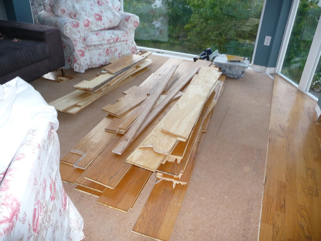 Living room - in progress