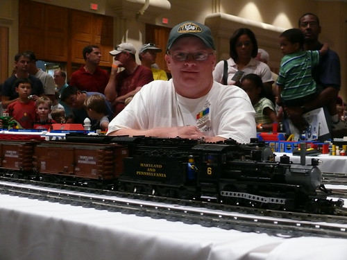 Photo of me from BrickFair 2008 courtesy of Bill Ward